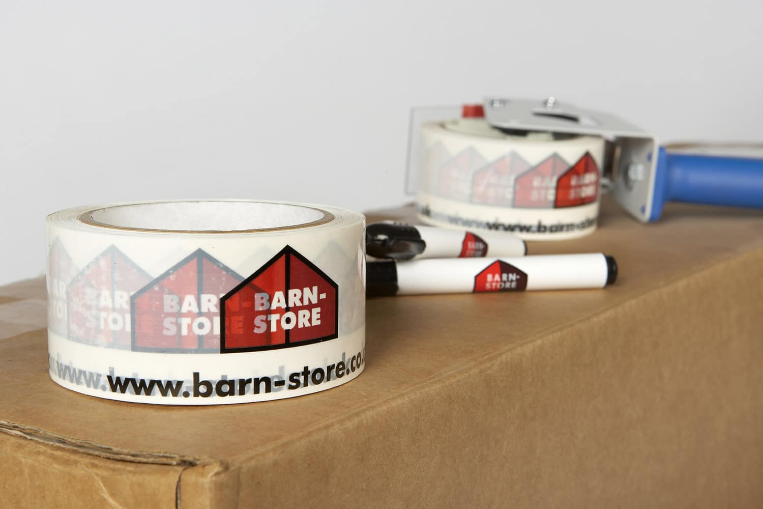 Barn store self storage packaging tape available