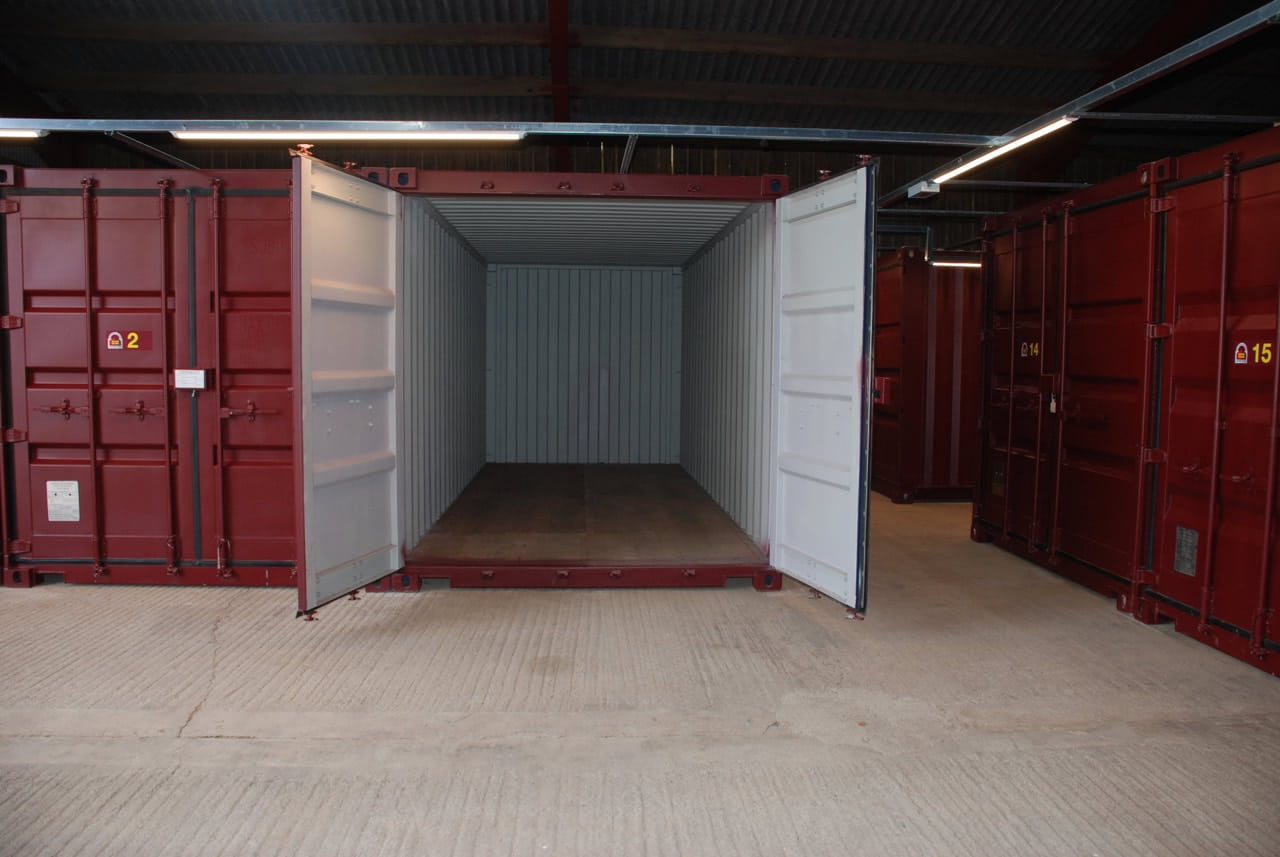 clean and secure self storage facility