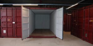 clean and secure self storage